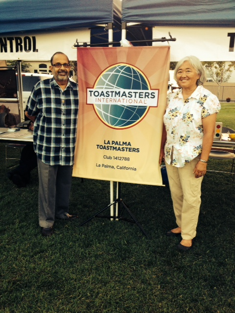 La palma Toastmasters at the 7th annual Civic Expo on August 9th, 2014